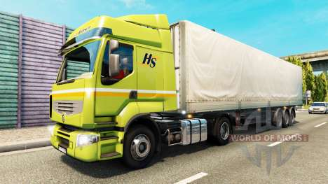 Coloring pages for freight traffic for Euro Truck Simulator 2