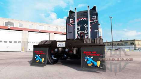 Mud flaps Keep on Truckin for American Truck Simulator