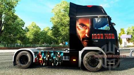 Ironman skin for Volvo truck for Euro Truck Simulator 2