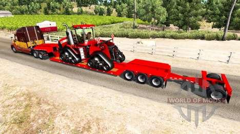 Low sweep Case IH Quadtrac 600 for American Truck Simulator