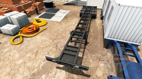 Semitrailer container v0.1 for American Truck Simulator