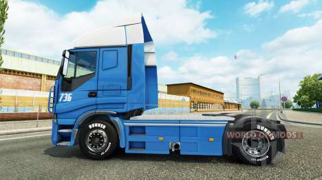 Versteijnen skin for Iveco tractor unit for Euro Truck Simulator 2