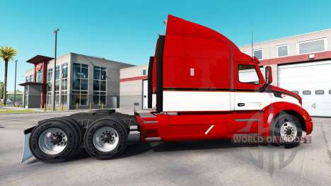 Vintage skin for the truck Peterbilt for American Truck Simulator