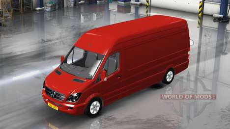 Mercedes-Benz Sprinter LWB v1.1 for American Truck Simulator