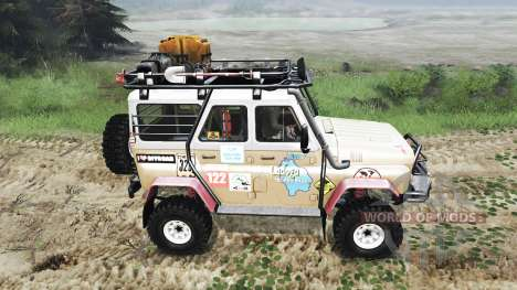 UAZ-31514 [03.03.16] for Spin Tires