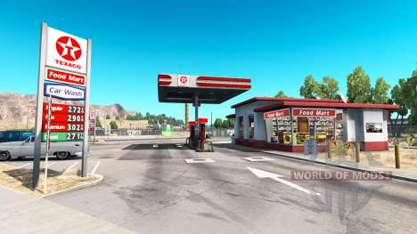 Real gas station for American Truck Simulator