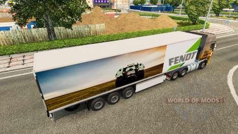 The Semi-Trailer Fendt for Euro Truck Simulator 2