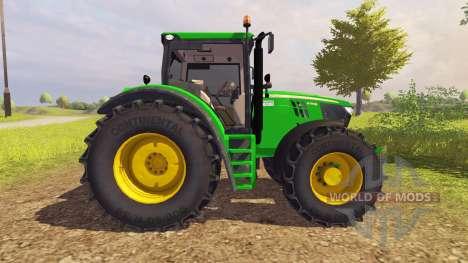 John Deere 6210R v2.0 for Farming Simulator 2013