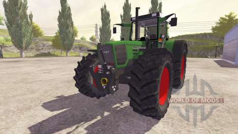 Fendt Favorit 824 Turbo v2.0 for Farming Simulator 2013