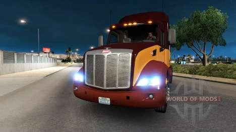 Xenon headlights for American Truck Simulator