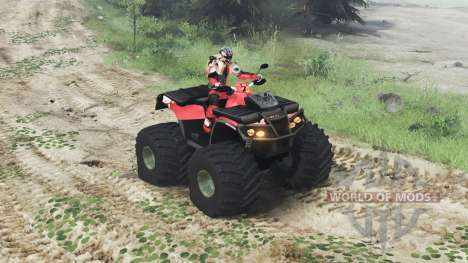 Can-Am Outlander 1000 XT [03.03.16] for Spin Tires