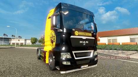 BvB skin for MAN trucks for Euro Truck Simulator 2