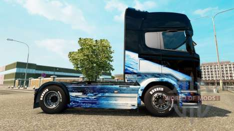 Earth skin for Scania truck for Euro Truck Simulator 2