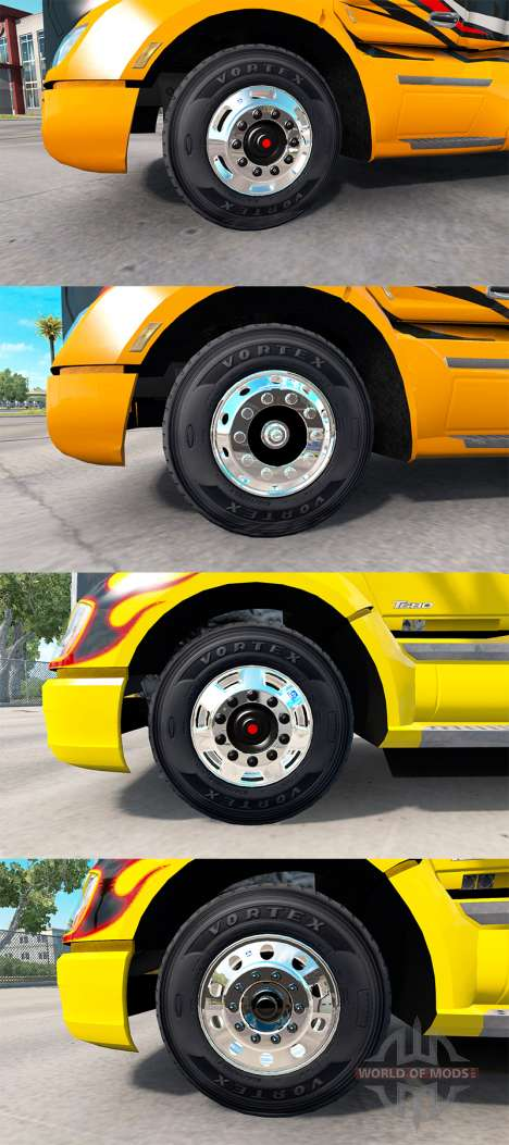 Wheels Alcoa for American Truck Simulator