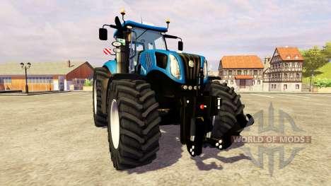 New Holland T8.390 v2.0 for Farming Simulator 2013
