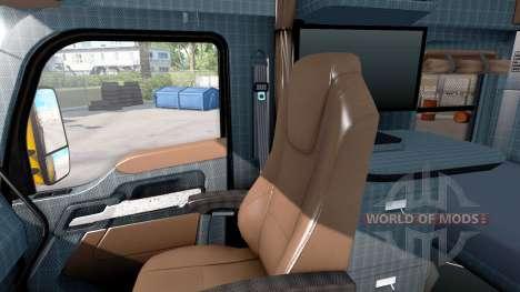 New colors interior Kenworth T680 for American Truck Simulator