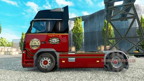 The Orlando Fire Department skins for Volvo truc for Euro Truck Simulator 2
