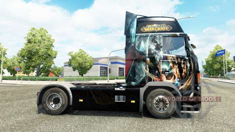 The World of Warcraft skin for Volvo truck for Euro Truck Simulator 2