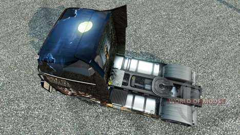 Zombie skin for the Volvo for Euro Truck Simulator 2