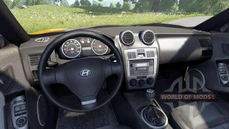 Hyundai Tiburon V6 Coupe 2003 for BeamNG Drive