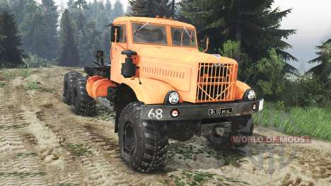 KrAZ-255 B1 [25.12.15] for Spin Tires