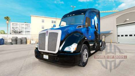 Wolf skin for the Kenworth tractor for American Truck Simulator