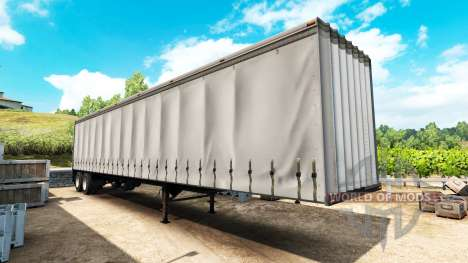 The semi-trailer curtain for American Truck Simulator