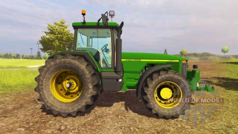John Deere 8400 v1.3 for Farming Simulator 2013