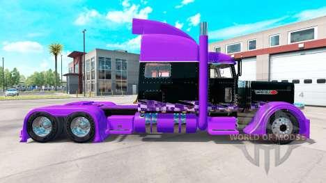 Racing skin for the truck Peterbilt 389 for American Truck Simulator