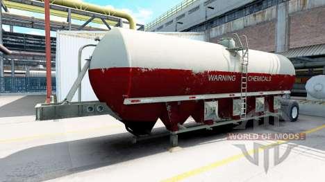 Semitrailer tank for American Truck Simulator