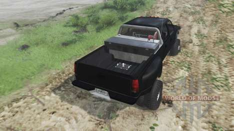 GMC Suburban 1995 Crew Cab Dually [03.03.16] for Spin Tires