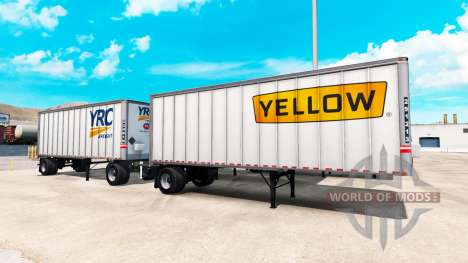Semi trailer for American Truck Simulator
