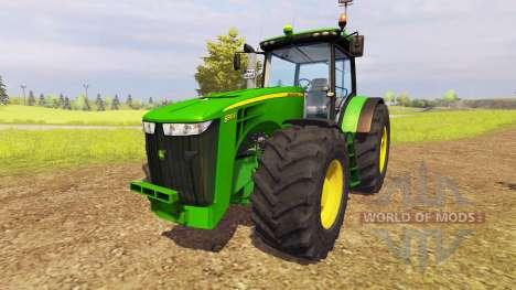 John Deere 8310R v1.6 for Farming Simulator 2013