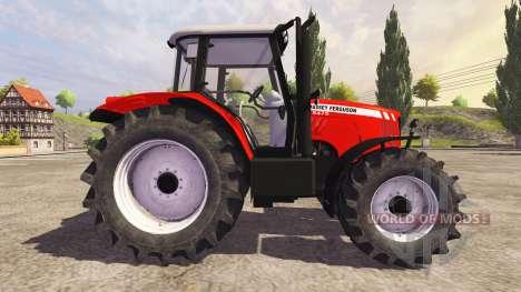 Massey Ferguson 5475 v2.1 for Farming Simulator 2013