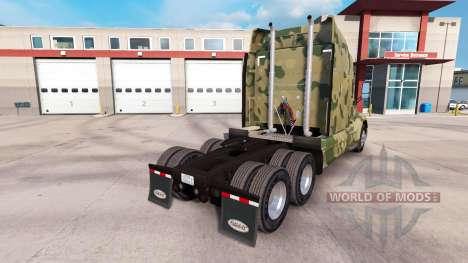 Camouflage skins for the Peterbilt and Kenworth  for American Truck Simulator