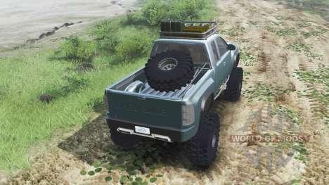 Chevrolet Silverado ZR2 2010 [03.03.16] for Spin Tires