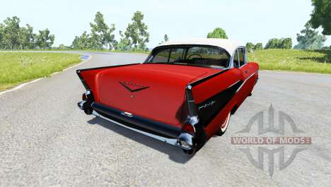 Chevrolet Bel Air Coupe 1957 for BeamNG Drive
