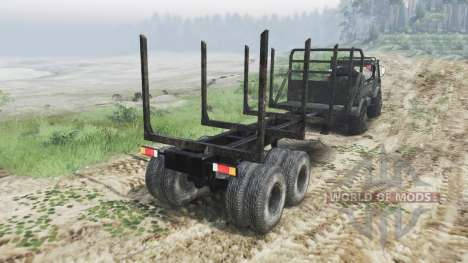 Mercedes-Benz Unimog U1650 [03.03.16] for Spin Tires