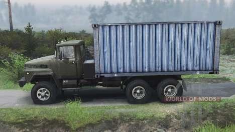 KrAZ-260 [03.03.16] for Spin Tires