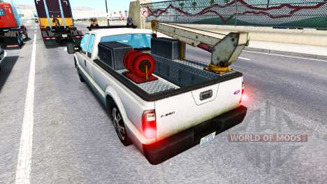 Ford F-250 Service [traffic] for American Truck Simulator
