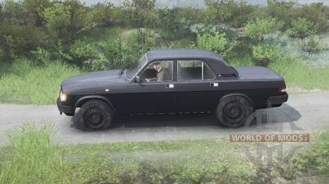 GAZ-3110 Volga [black][03.03.16] for Spin Tires