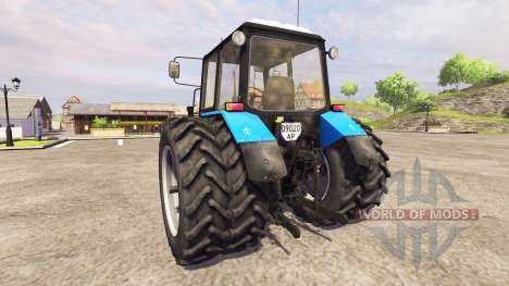 MTZ-Belarus 1025 v1.1 for Farming Simulator 2013