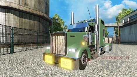 Kenworth W900L v1.5 for Euro Truck Simulator 2
