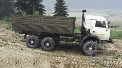 KamAZ-43115 [25.12.15] for Spin Tires