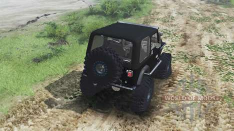 Jeep YJ 1987 [flat fender][03.03.16] for Spin Tires