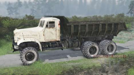 The KrAZ-214 [03.03.16] for Spin Tires