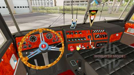 Kenworth K100 Aerodyne for American Truck Simulator