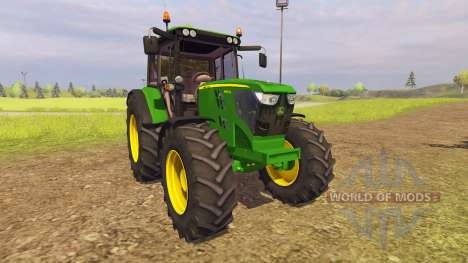 John Deere 6125M v2.0 for Farming Simulator 2013