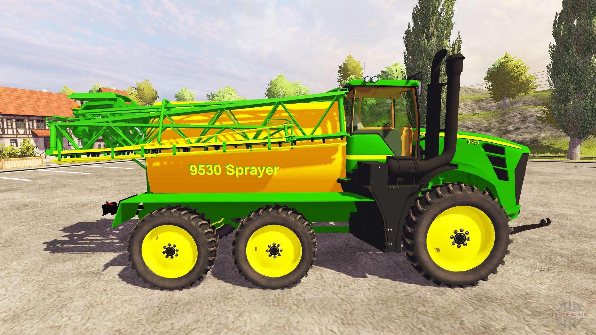 John Deere 9530 sprayer for Farming