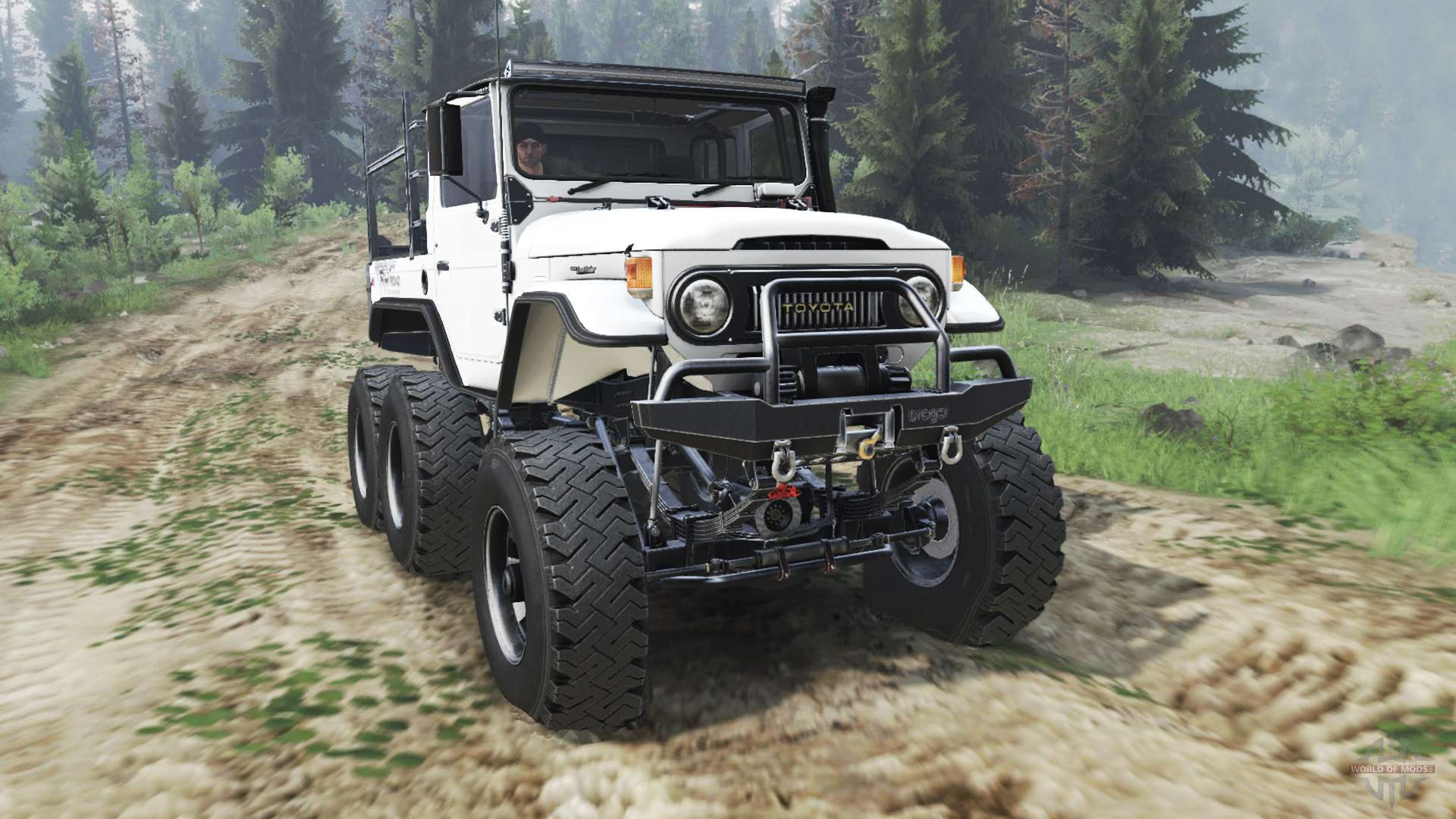 Toyota Fj40 6x6 03 03 16 For Spin Tires